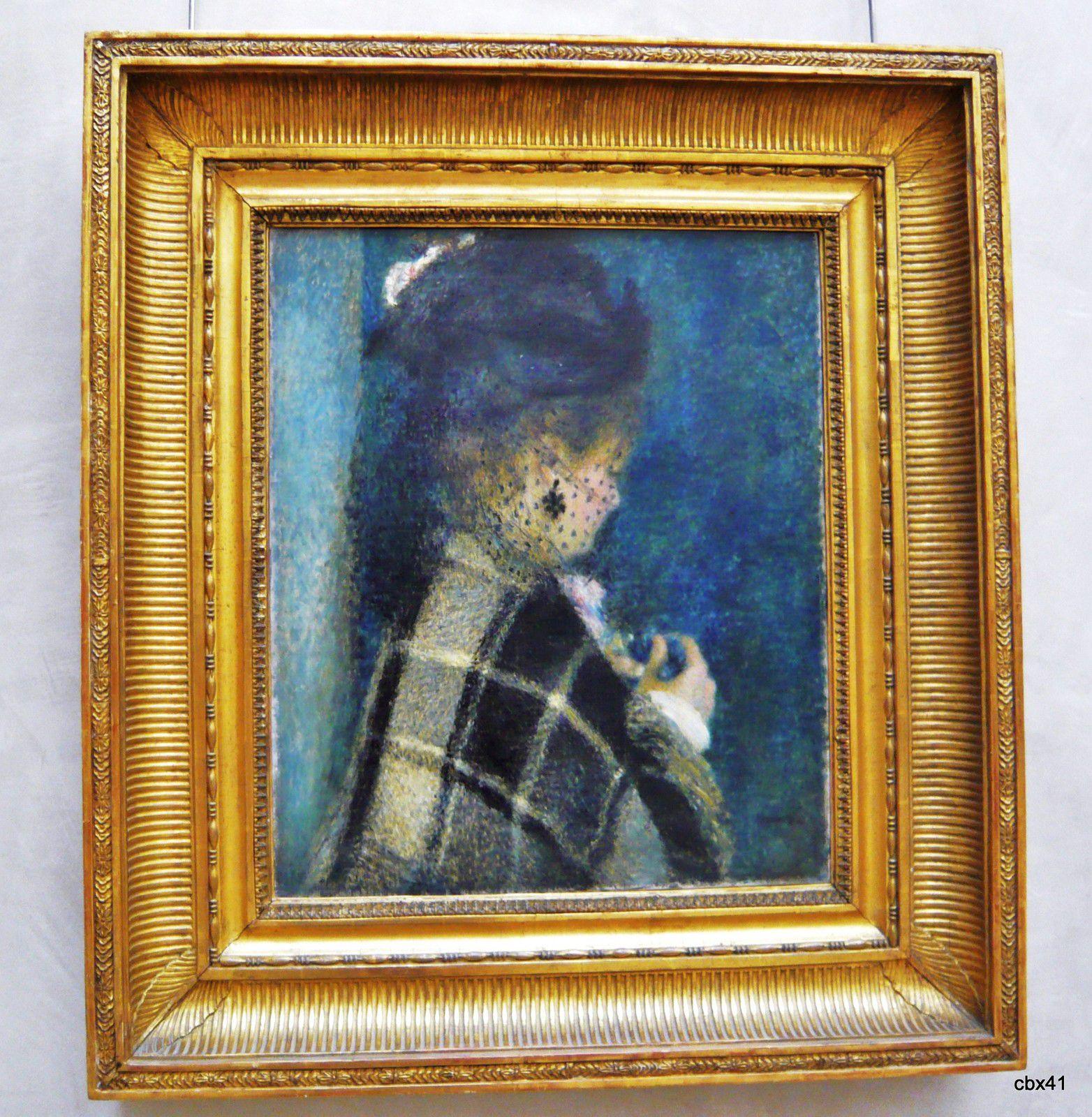 Pierre-Auguste Renoir, Jeune femme à la voilette