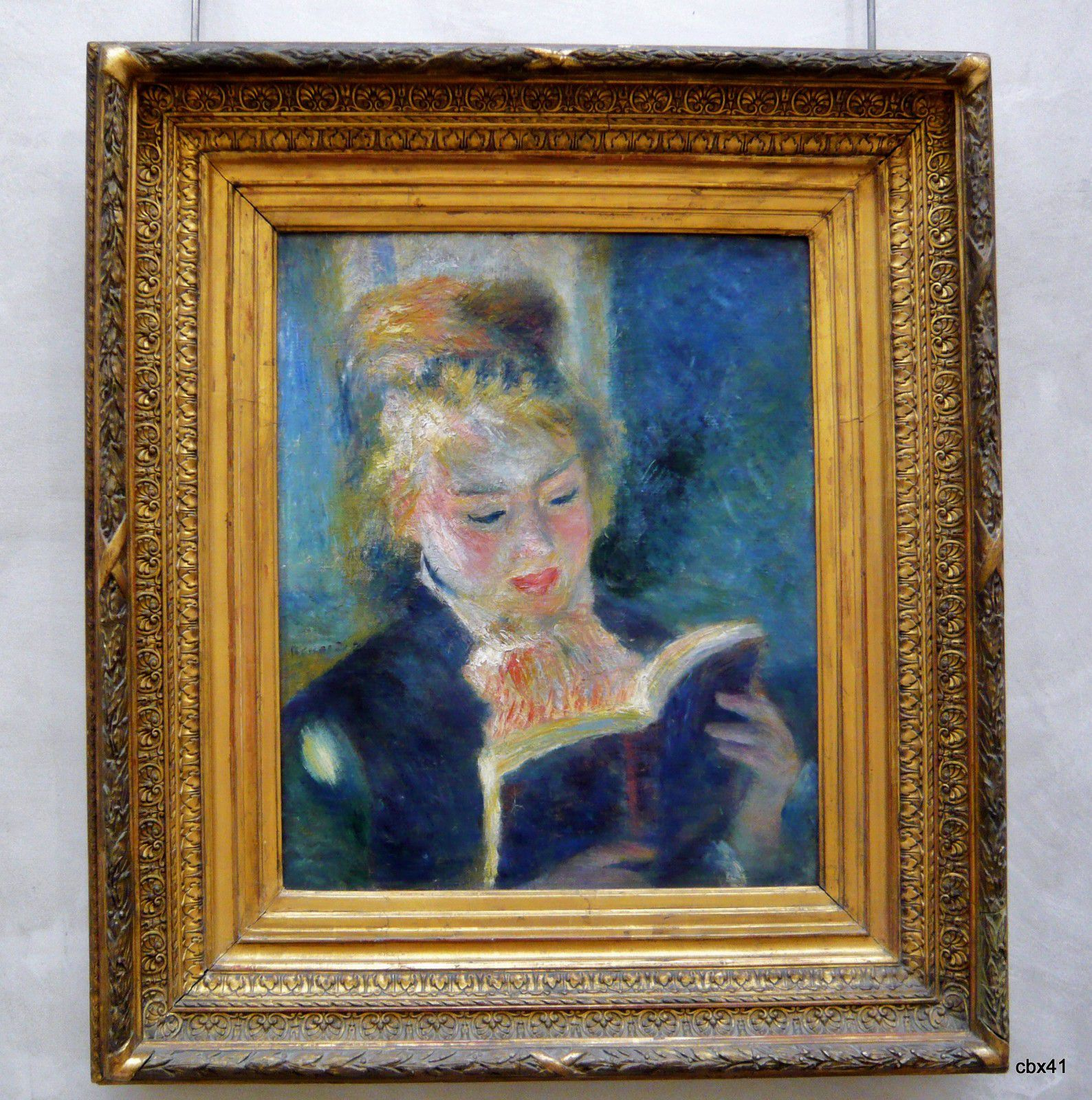 Pierre-Auguste Renoir, La liseuse