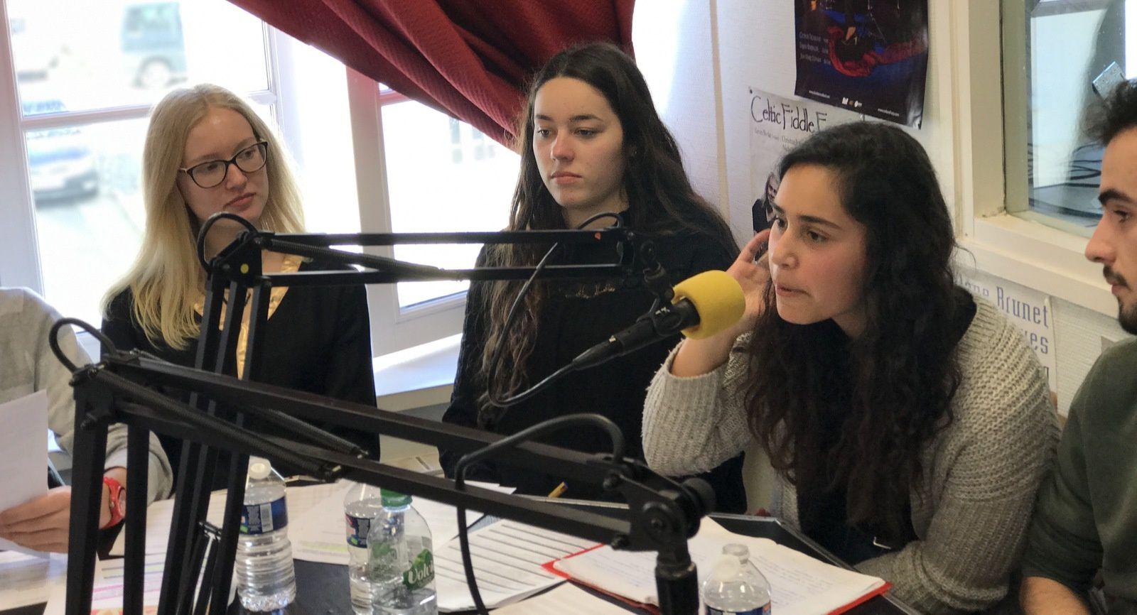 """"""" Vue de chez Nous"""" Emission radio avec les  lycéens de Jeanne d'Arc -"""