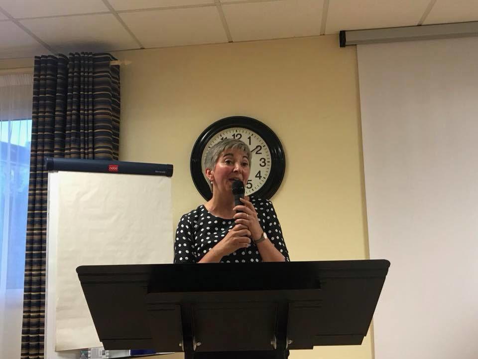 Muriel Jourda - Benoit Quero - Soizic Perrault - rentrée politique - Pontivy