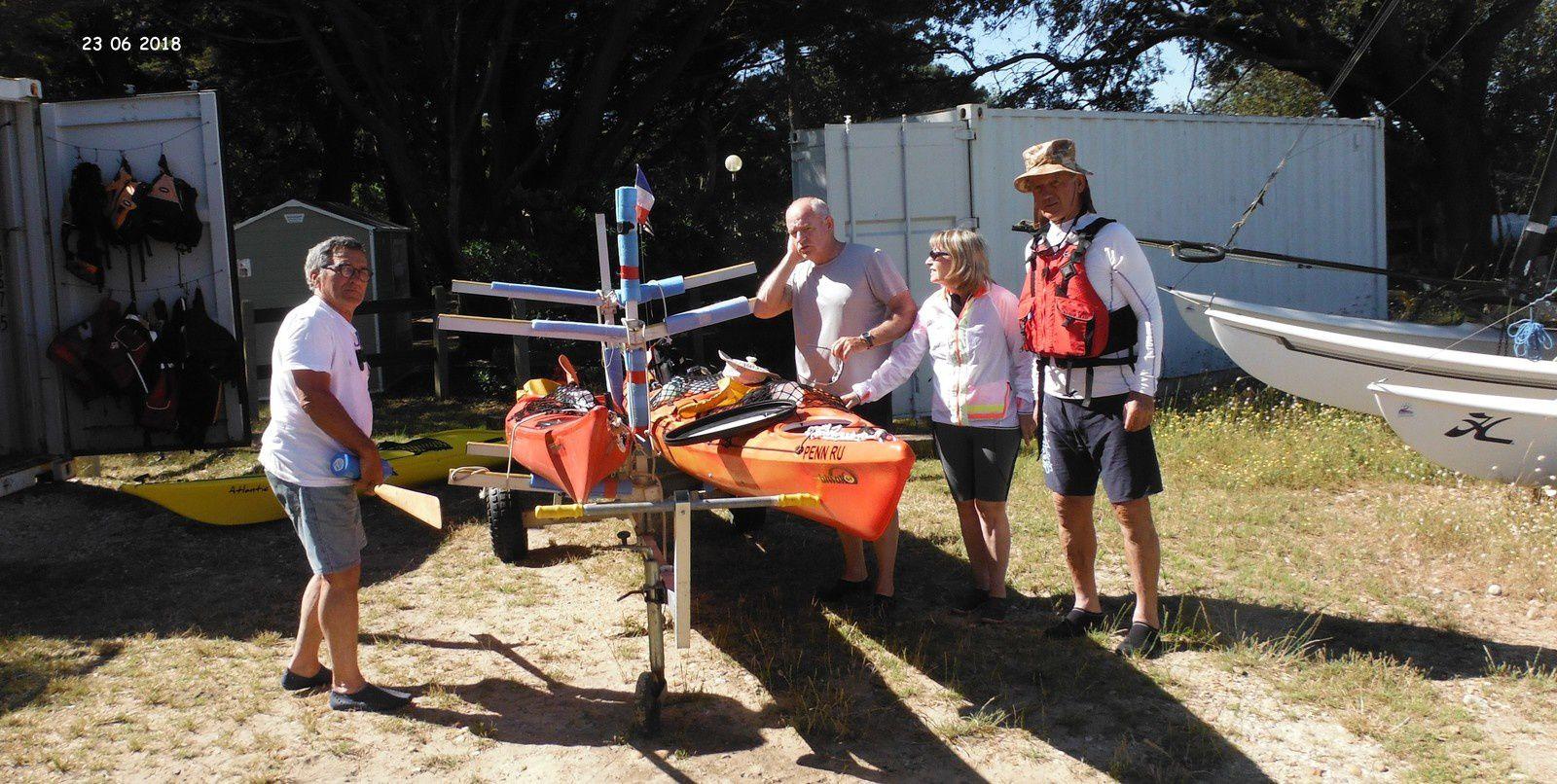 30 ANS DE LA SNSM, l'AST Kayak était présente