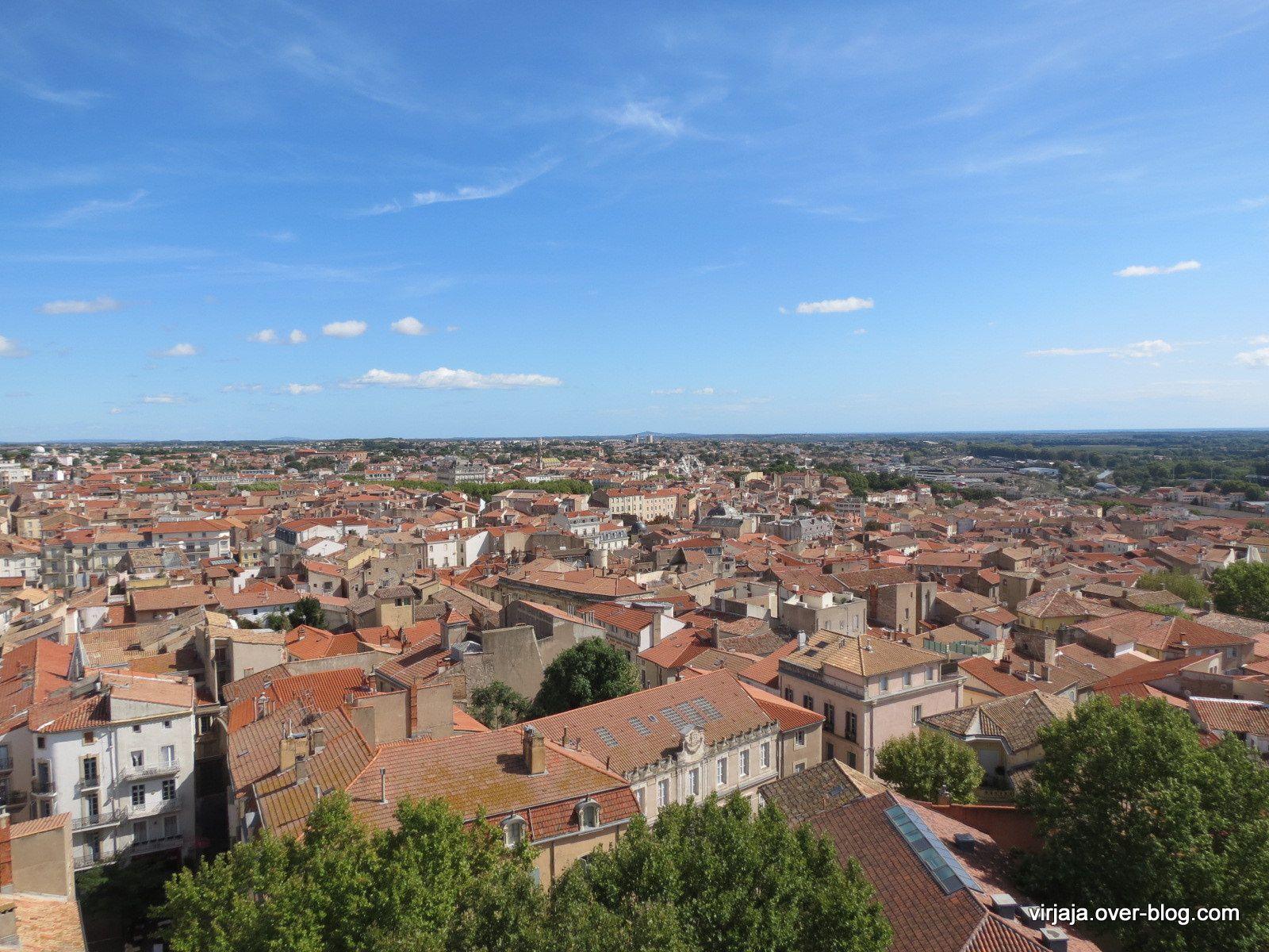 clocher de la cathédrale de Béziers