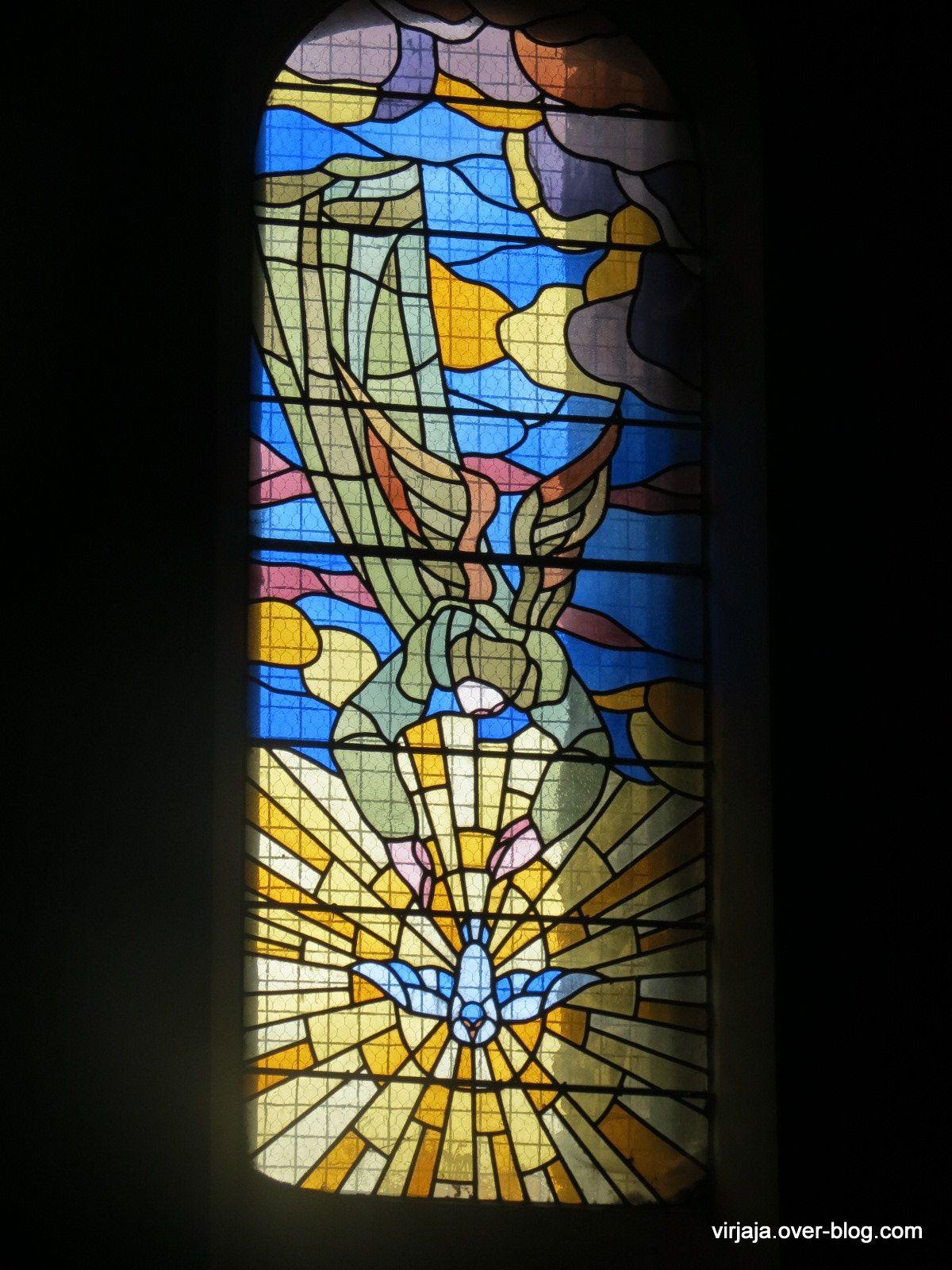 Quillan, l'intérieur de l'église