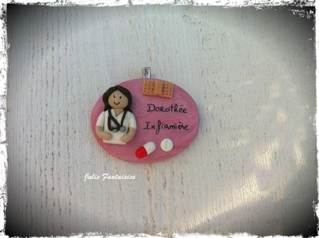 Badge pour Dorothée Infirmière