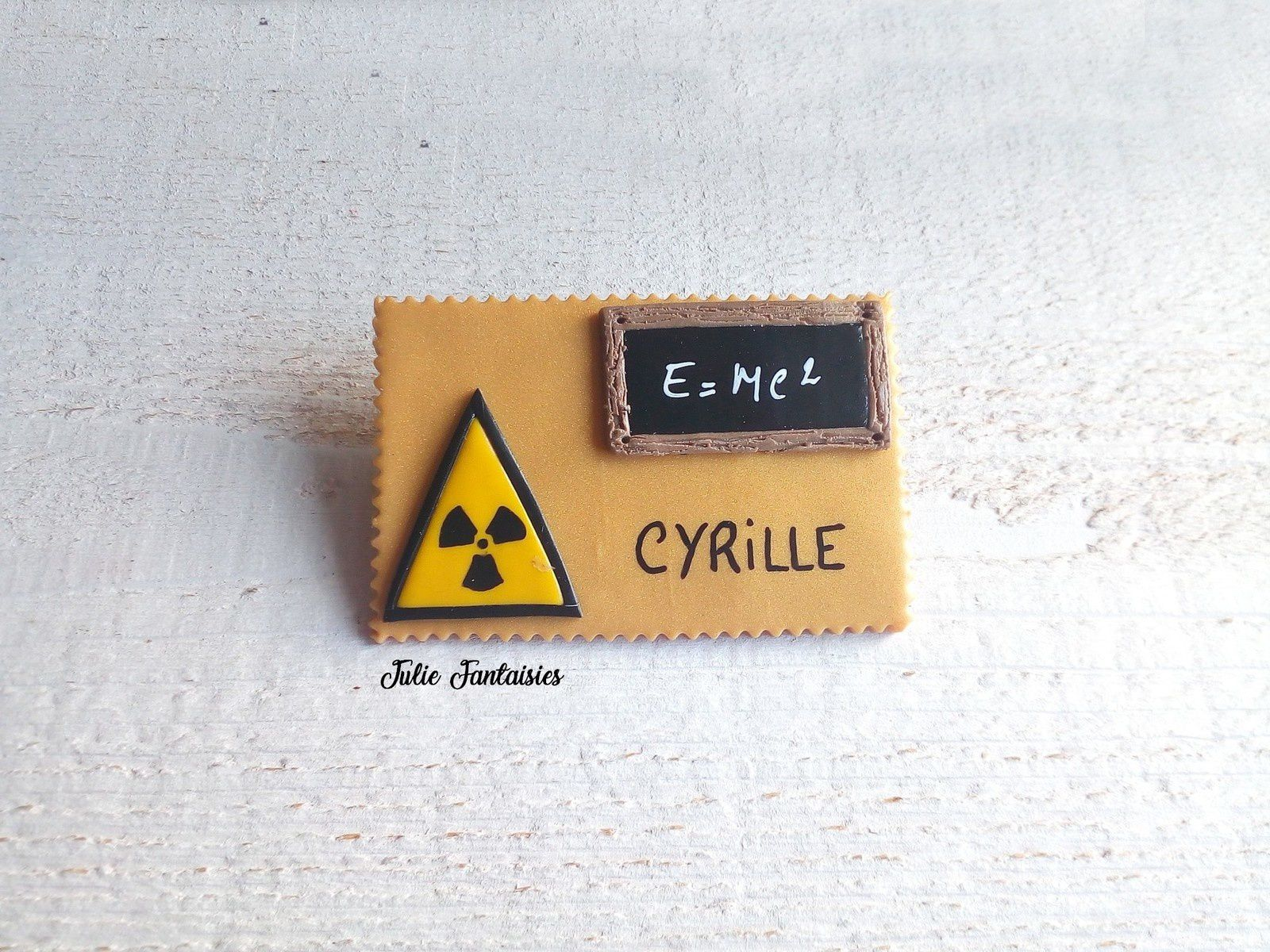 Badge pour Cyrille, radiologue