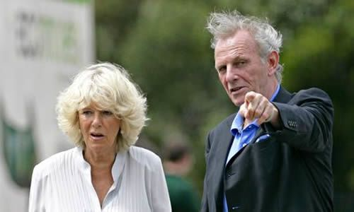 Camilla, Duchess of Cornwall, and her late brother, Mark Shand