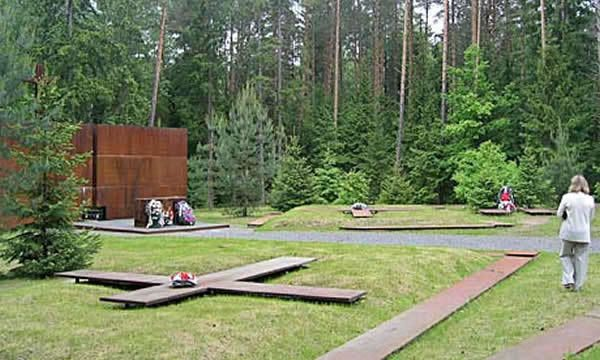 Memorial of Katyn massacre
