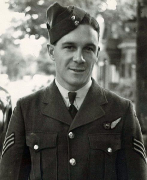 Flight Sergeant John Joseph (Jay) Carey, who died in the crash of a Halifax bomber over the Laacher See in Germany on Aug. 29, 1942