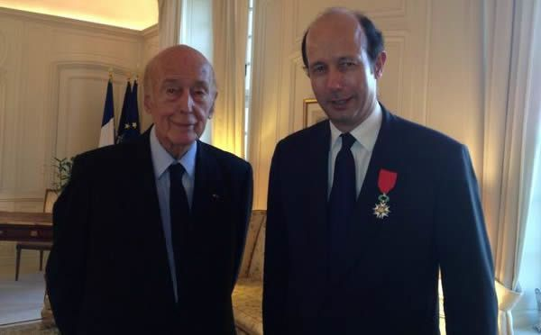 Valery et Louis Giscard d'Estaing