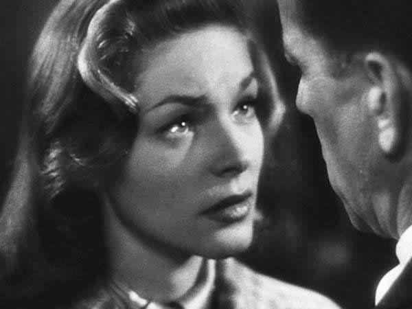 Lauren Bacall dans «Les passagers de la nuit» (1947)