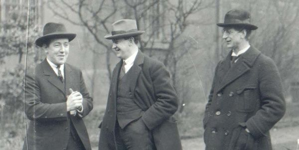 Harry Boland, Michael Collins et Eamon de Valera
