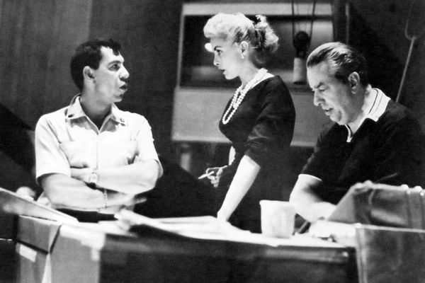 Jack Webb, Janet Leigh and Ray Heindorf