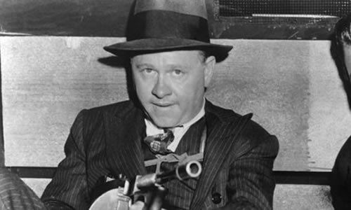 Mickey Rooney in 1957's 'gangster classic' Baby Face Nelson. Photograph: Everett Collection/Rex Features