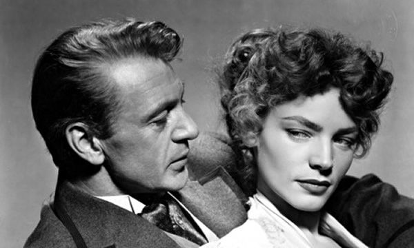 Lauren Bacall with Gary Cooper in Bright Leaf. 'Those cheekbones, the long reach of her nose, the full pout … This is the celebrated Bacall look.' Photograph: Ronald Grant Archive