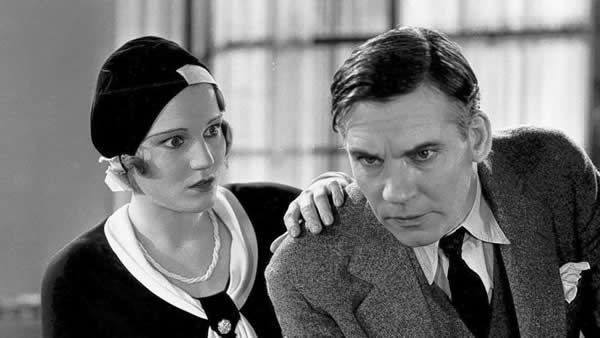 """Constance Cummings as Mary Brady and Walter Huston as Mark Brady in """"The Criminal Code,"""" 1931, directed by Howard Hawks. (Columbia Pictures / Photofest)"""