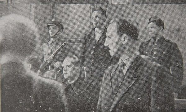 Trial: Goeth was executed after being convicted of war crimes but remained devoted to the Nazi cause