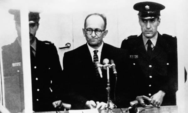 Adolf Eichmann claimed he had no alternative but to act as Hitler's transport administrator