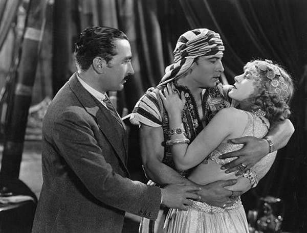 George Fitzmaurice, Rudolph Valentino et Vilma Bánky