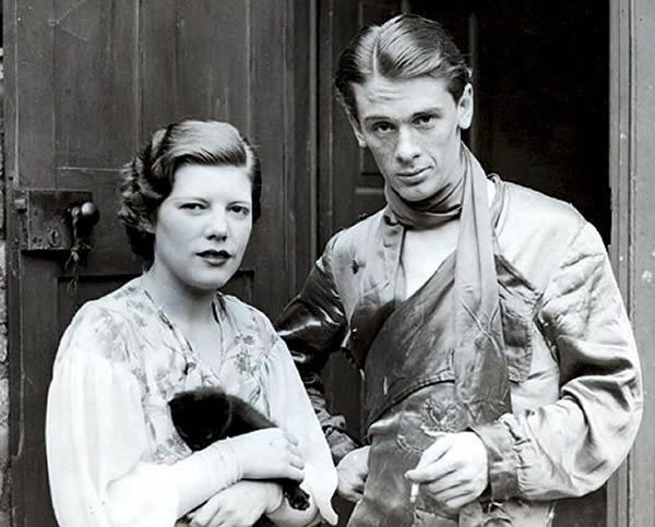 John Amery with his prostitute wife Una Wing