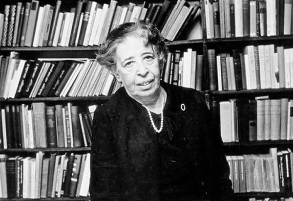 Hannah Arendt in 1972