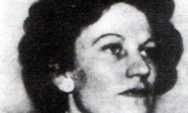 Eileen Nearne during the second world war, when she served as a spy