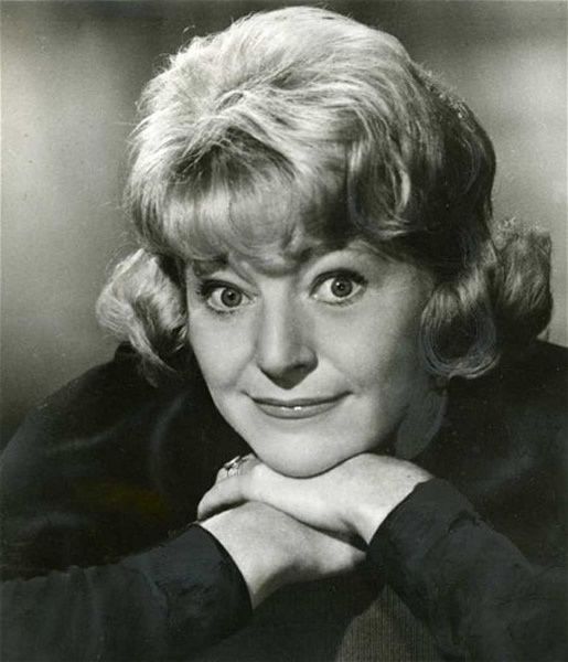 Dora Bryan in the play They Don't Grow on Trees in 1968