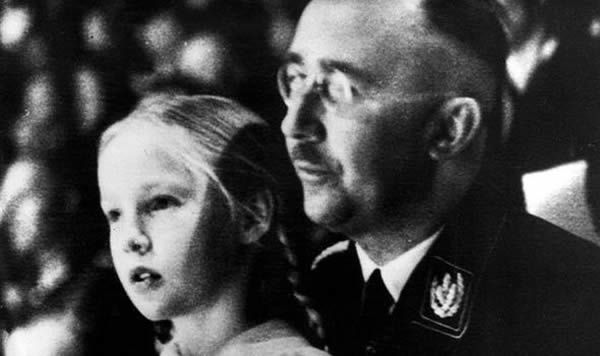 Gudrun Burwitz and her father in 1938