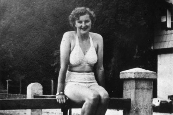 Eva Braun (1910 - 1945) mistress of Adolf Hitler and later his presumed wife