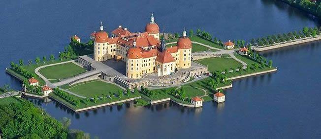 Le château de Moritzburg, en Saxe