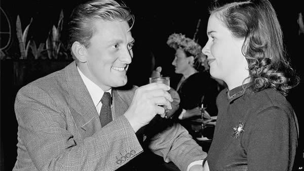 Kirk and Diana Douglas were married from 1943 to 1951