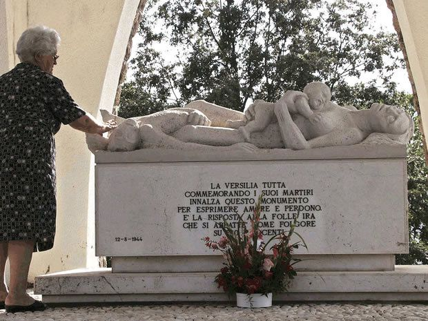 Gerhard Sommer was one of 10 SS-soldiers accused of massacring hundreds in an Italian village in 1944