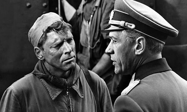 All-action Burt Lancaster and the 'hypnotic' Paul Scofield in The Train