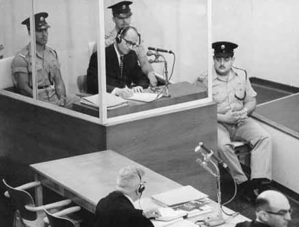 Eichmann on trial in Israel