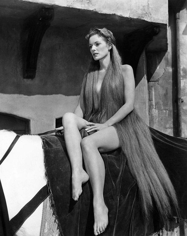 Maureen O'Hara in Lady Godiva Of Coventry, 1955