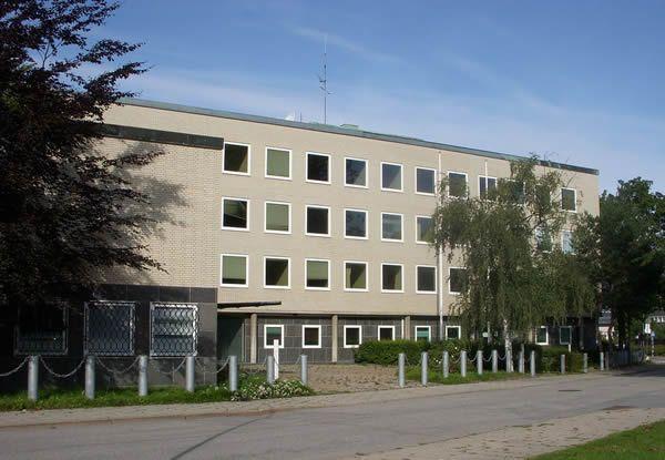 L'ambassade d'Allemagne à Stockholm en 2008.