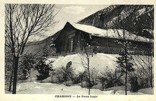 Le Vieux Logis - chalet où fut retrouvé Stavisky