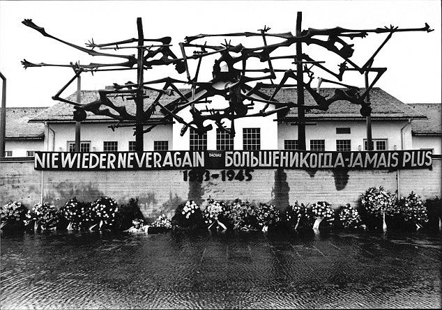 The Dachau Concentration Camp, where one brother was condemning millions to death while the other was securing their release