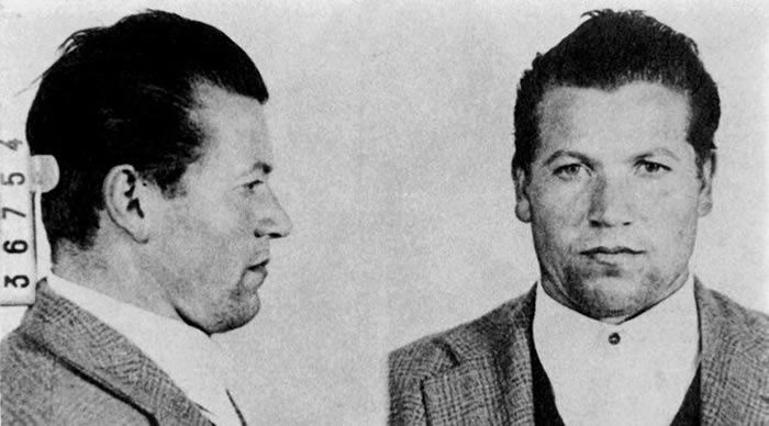 A mug shot of Mr. Provenzano taken in 1959. He was captured at age 73 after more than four decades on the run