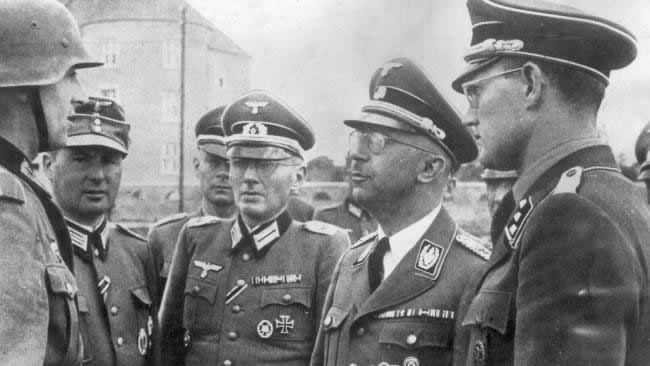 The diaries of former SS leader Heinrich Himmler have been discovered
