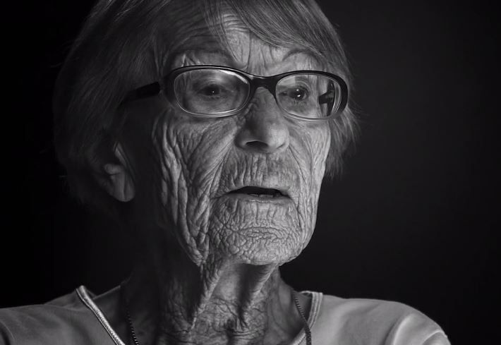 """105-year-old Brunhilde Pomsel described her work for Nazi propaganda mastermind Joseph Goebbels as """"just another job."""