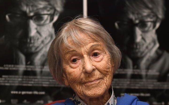 Brunhilde Pomsel last year