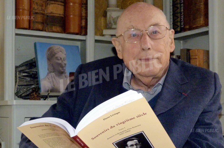 L'historien dijonnais Pierre Lévêque s'est éteint à l'âge de 90 ans