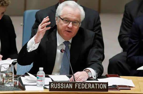 Décès inopiné de l'ambassadeur russe à l'ONU
