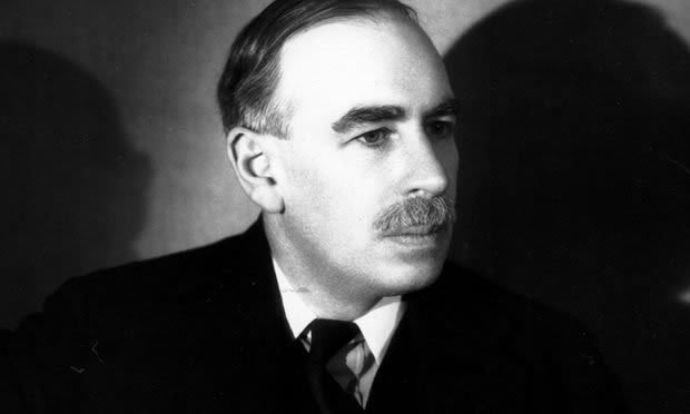 The economist John Maynard Keynes suggested the world was entering a new dark age in the 1930s. Photograph: Hulton Getty