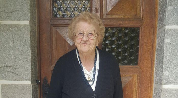 A 94 ans, Odette n'a pas manqué la commémoration de la victoire du 8 mai 1945 qui a eu lieu dimanche 7 mai.