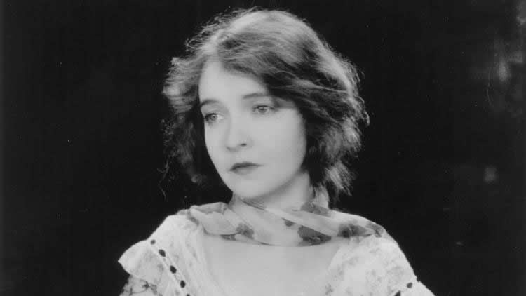"""Lillian Gish appears in a scene from """"The Wind."""" (Academy of Motion Pictures Arts and Sciences)"""
