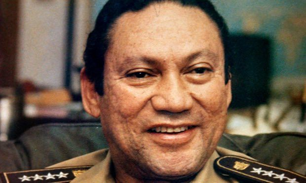 Manuel Antonio Noriega was put into an induced coma in March after brain surgery. Photograph: AP