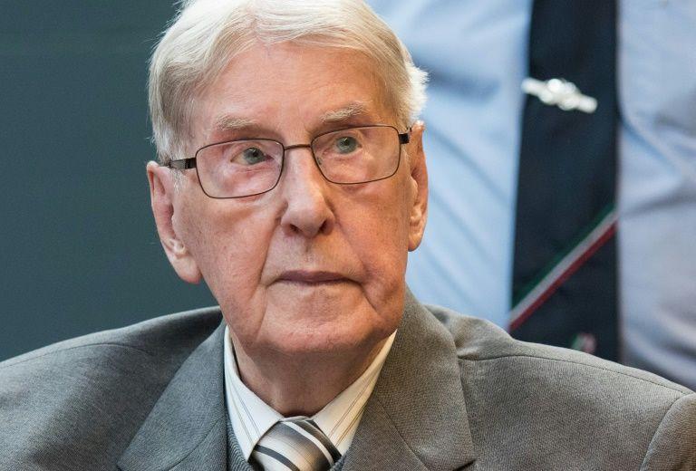Reinhold Hanning pendant son procès devant la cour de Detmold, le 17 juin 2016