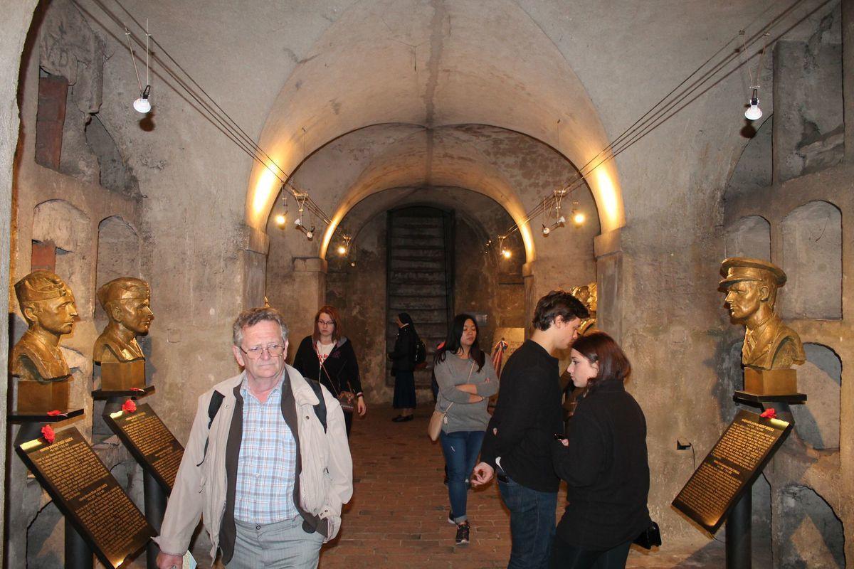 La crypte de l'église orthodoxe Saints-Cyrille-et-Méthode, photo: Ondřej Tomšů