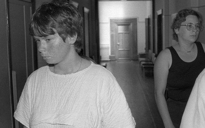 Murielle Bolle et Marie-Ange Laroche, ici en juin 1986.  AFP/Eric Feferberg